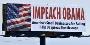 """Impeach Obama"" billboard"