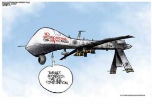 Drones aim at Constitution