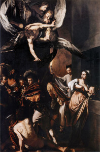 The Seven Acts of Charity - by Caravaggio (1607)