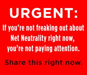 NetNeutrality - red, urgent