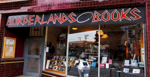 Borderlands Books storefront