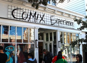 Comix Experience storefront