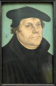 Martin Luther, by Lucas Cranach the Elder