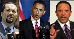 Ben Jealous (NAACP) / Barack Obama / Marc Morial (NUL)
