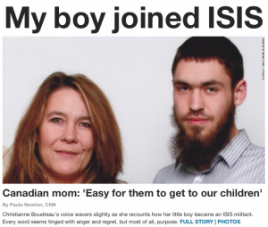 My boy joined ISIS