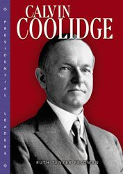 Calvin Coolidge book cover - red bkgrd