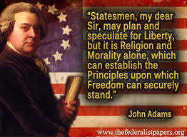 John Adams on religion and freedom
