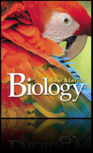 biology textbook - macaw-reflection
