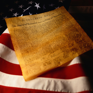 declaration_of_independence_and_us_flag