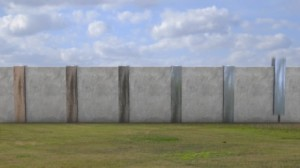 Animation of proposed wall
