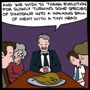 atheists-thanking-evolution-for-turkeys